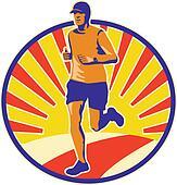 Marathon Runner Athlete Running