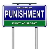 Punishment concept.