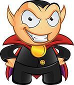 Vampire Mascot - Evil Smile