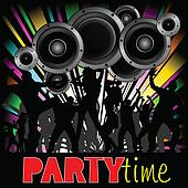 party time illustration with young people