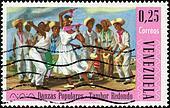 Stamp Danzas Populares - Tambor Redondo