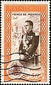 Stamp Prince de Monaco 50c
