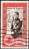 Stamp Prince de Monaco 10c