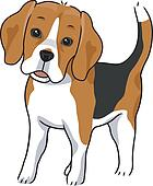 Beagle Clip Art - Royalty Free - GoGraph