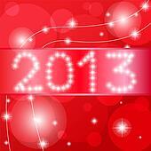 2013 Happy New Year card