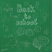 Back to school board doodles