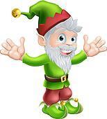 Garden gnome or elf