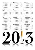 Quit smoking calendar 2013