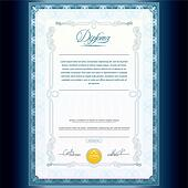 Classic Diploma Template