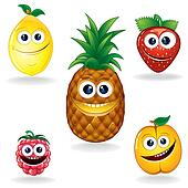 Funny Fruits A