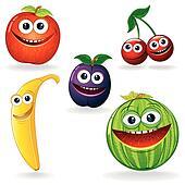 Funny Fruits B