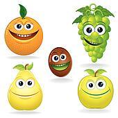 Funny Fruits C