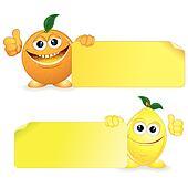 Orange with Lemon