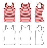 Red-white striped vest