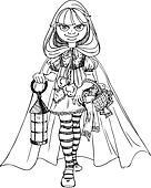 cute Little Red Riding Hood