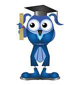 Female graduation student