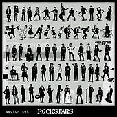 vector set of rockstars