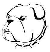 Cute Bulldog Clipart