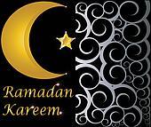 ramadan kareem muslim crescent
