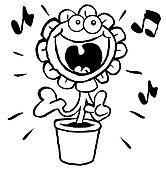Singing sunflower.OL