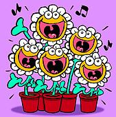 Singing Daisies.