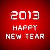 2013 Happy new year, happy new year