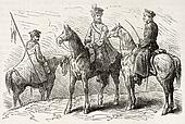 Polish cavalrymen