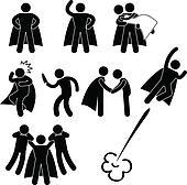 Superhero Hero Rescue Help Protect