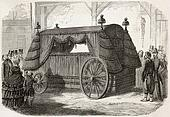 Napoleon funeral carriage