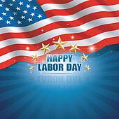 Labor Day in the American Backgroun