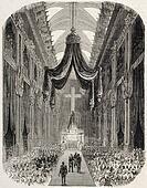 Jerome Bonaparte funeral