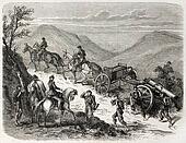 Piedmontese artillery