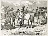 African tribal leader