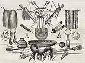 Ornaments and utensils