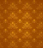 Gold Damask Pattern
