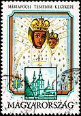 Virgin Mary Christ Mariapocs Hungary