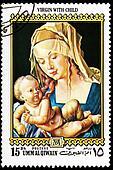 Virgin Mary With Child Jesus, Albrecht Durer