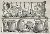 Bronze pottery