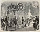 Marshal Narvaez funeral room