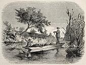Loaded boat