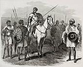 Abyssinian warriors
