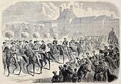 Napoleon III on horseback
