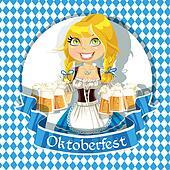 Royalty Free Oktoberfest Clip Art - GoGraph