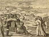 Hermit old illustration