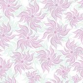 Art flower seamless background