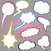 Dialog clouds