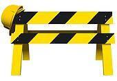 Under Construction Barrier