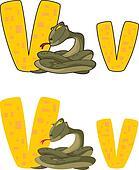letter V viper