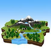 Natural resources, flora and Fauna