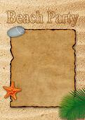 Beach Party Illustration